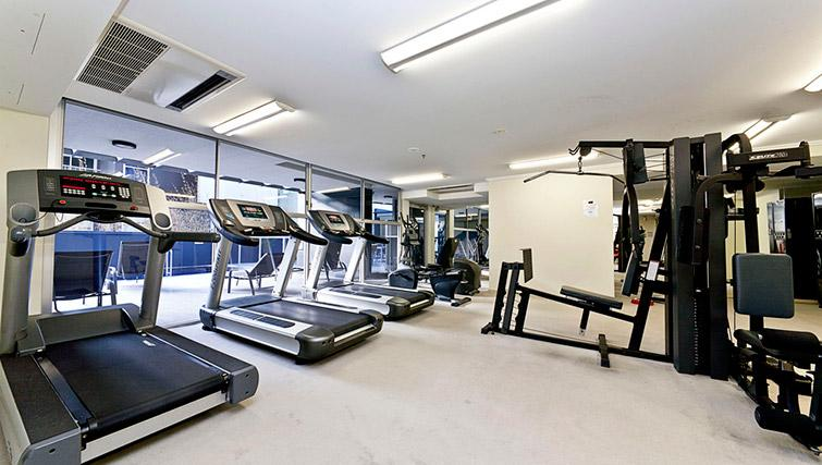 Fitness centre at Mantra on Mary - Citybase Apartments
