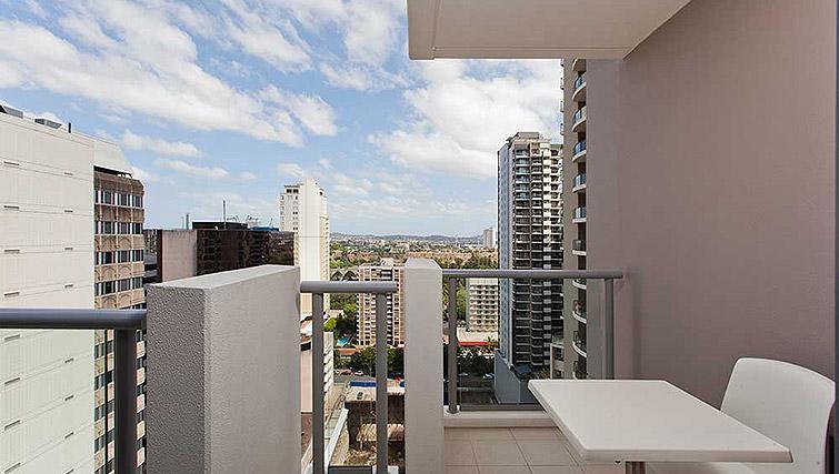 Balcony at Mantra Midtown Brisbane Apartments - Citybase Apartments