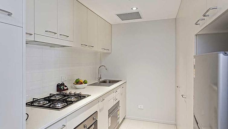 Kitchen at Mantra Midtown Brisbane Apartments - Citybase Apartments