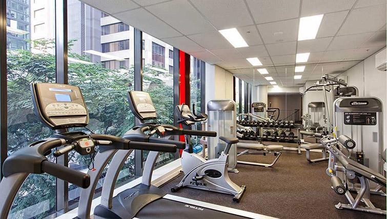 Gym at Mantra Midtown Brisbane Apartments - Citybase Apartments
