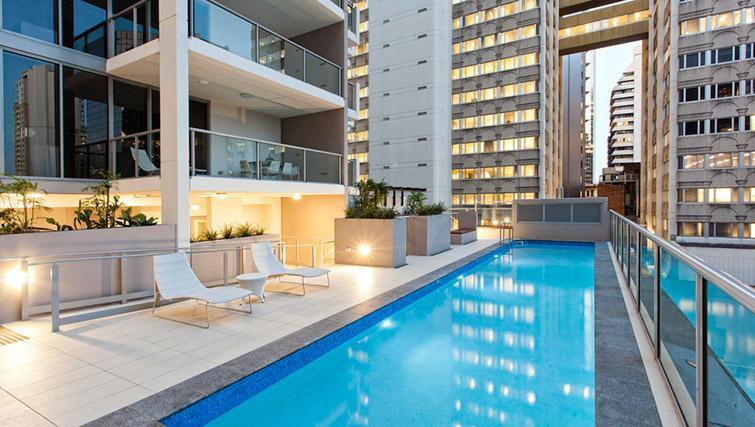 Pool at Mantra Midtown Brisbane Apartments - Citybase Apartments