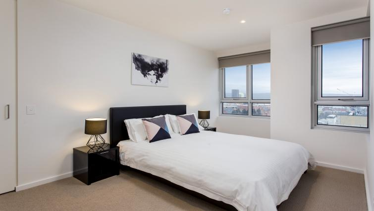Bedroom at Astra Apartments Adelaide Vision - Citybase Apartments