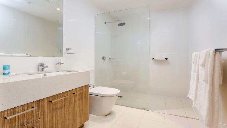 Bathroom at Astra Apartments Adelaide Vision - Citybase Apartments