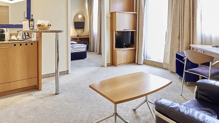 Living area at Starlight Suiten Hotel and Apartments - Citybase Apartments