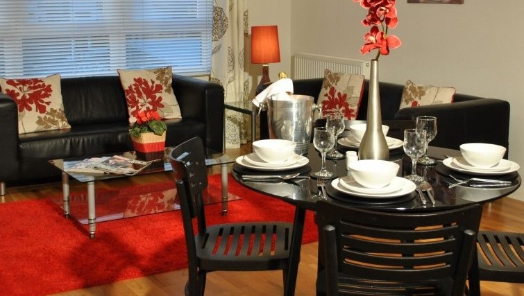 Ideal dining area in West Tollcross Apartments - Citybase Apartments