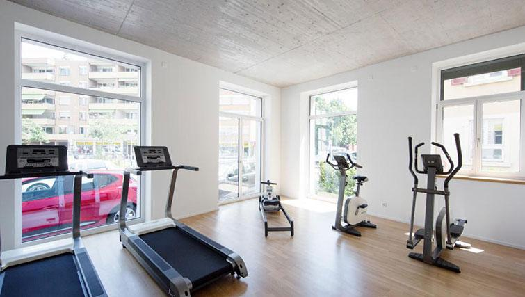 Fitness centre at Kanzleistrasse Apartments - Citybase Apartments
