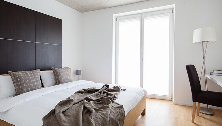 Bedroom at Kanzleistrasse Apartments - Citybase Apartments