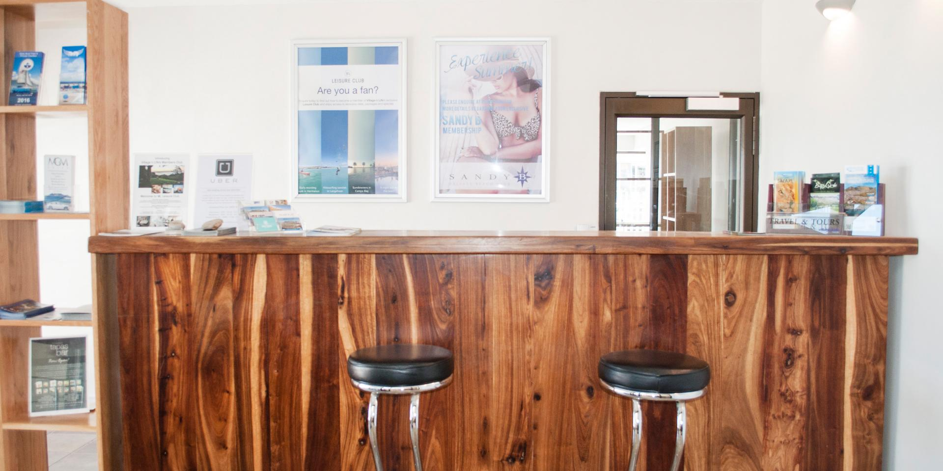 Breakfast bar at Mouille Point Village - Citybase Apartments