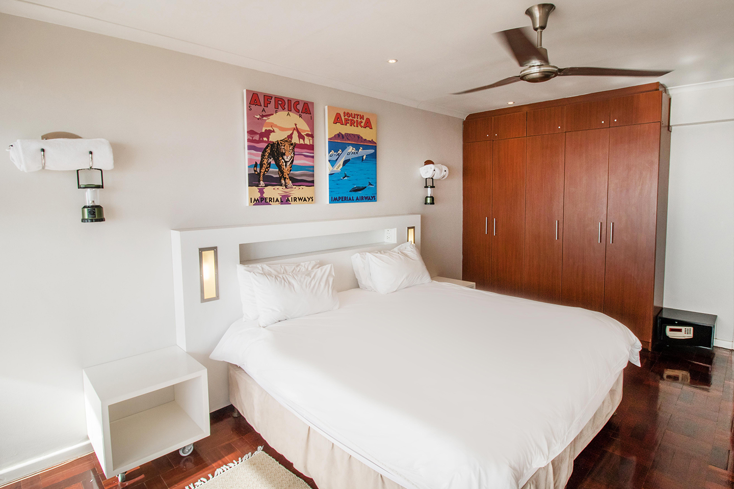 Bedroom at Mouille Point Village - Citybase Apartments