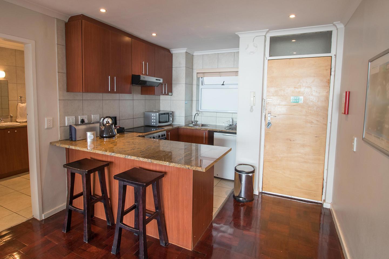 Kitchen at Mouille Point Village - Citybase Apartments