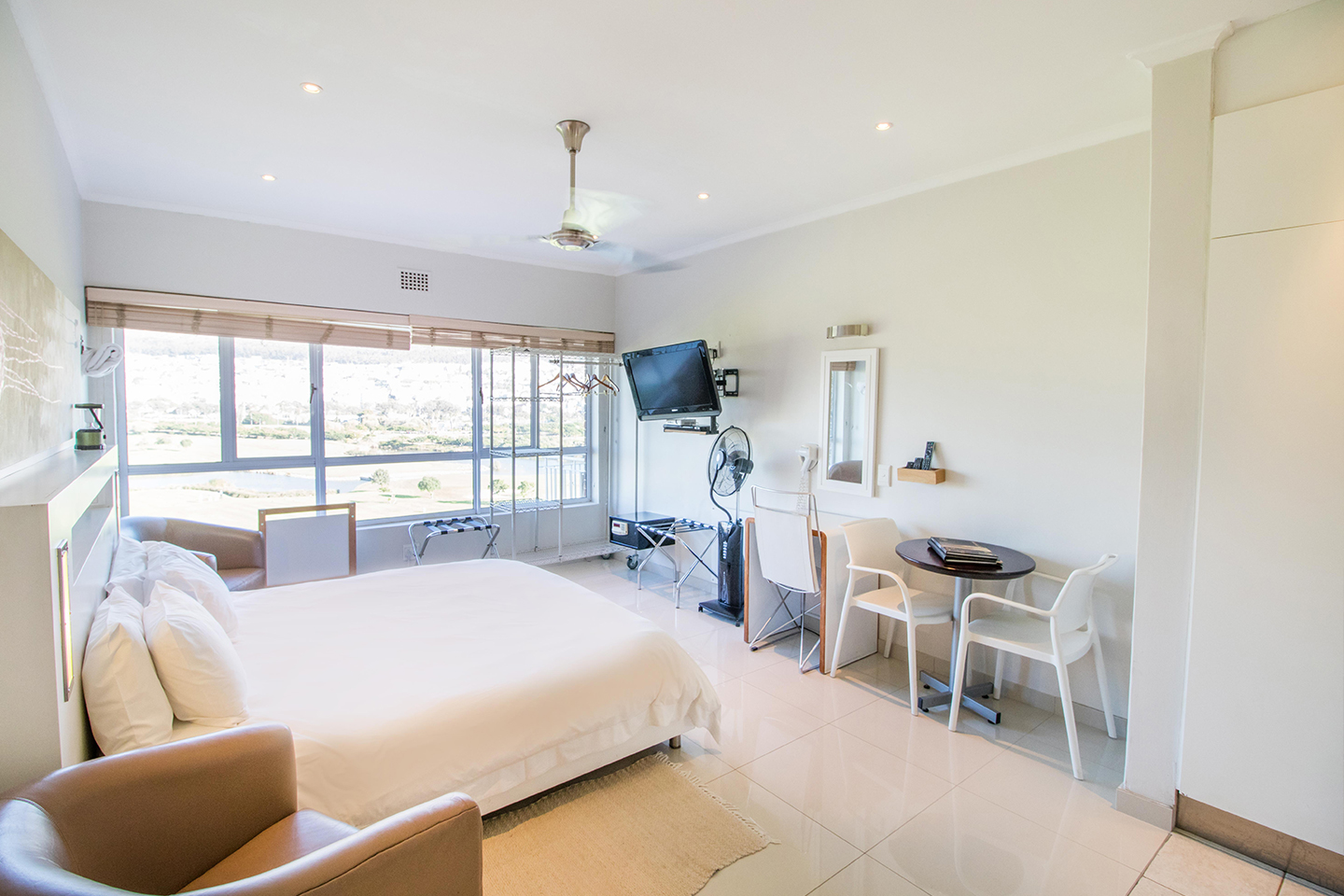 Bedroom 1 at Mouille Point Village - Citybase Apartments