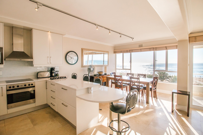 Kitchen view at Mouille Point Village - Citybase Apartments