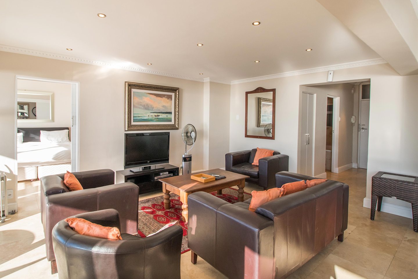 Living space at Mouille Point Village - Citybase Apartments
