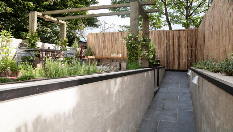 Garden at room2 Hammersmith Apartments - Citybase Apartments