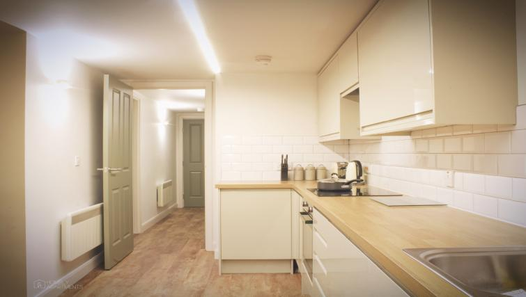Kitchen area at Figtree Apartments - Citybase Apartments