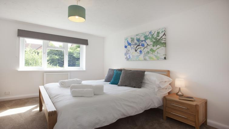 Bedroom at Deepdale Apartment - Citybase Apartments