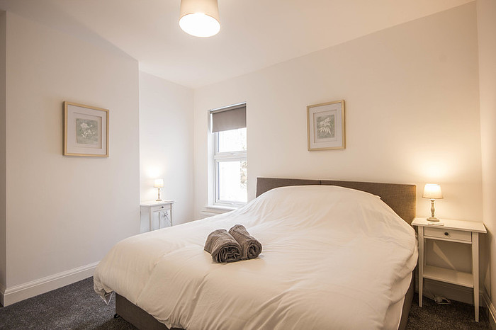 Bedroom at Riverside House Norwich - Citybase Apartments