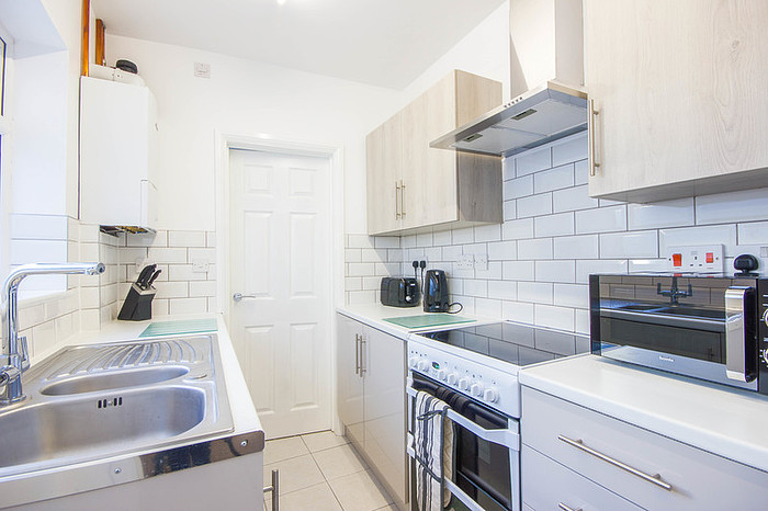Kitchen at Riverside House Norwich - Citybase Apartments