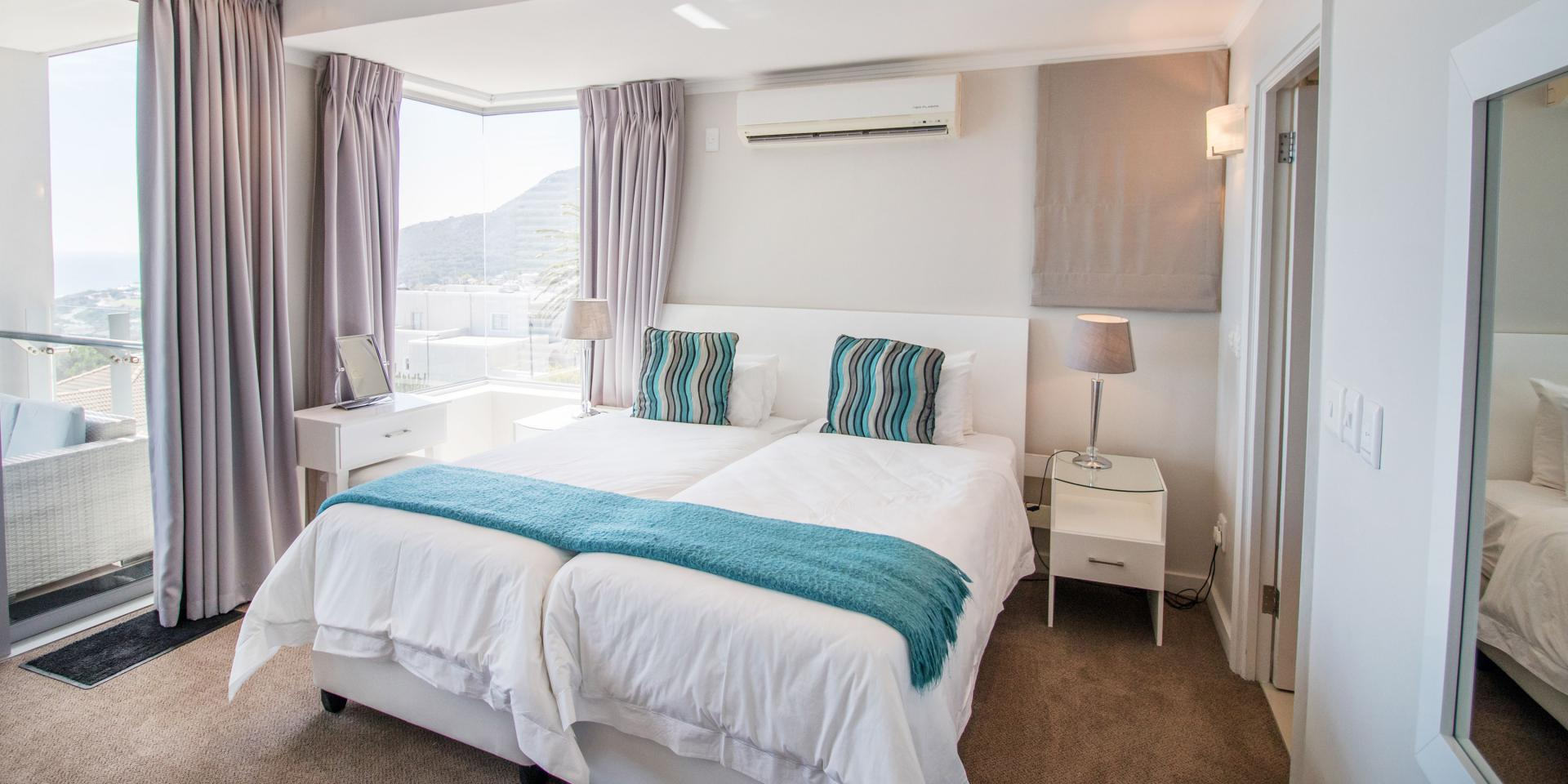 Double bed at The Crystal Apartments - Citybase Apartments