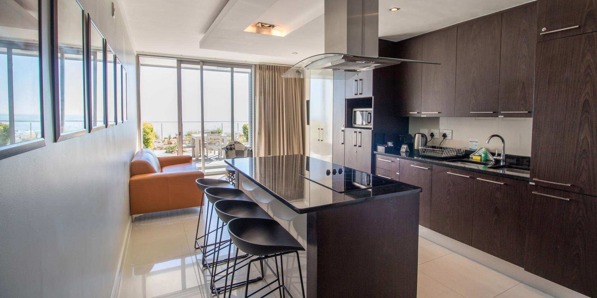 Kitchen at The Crystal Apartments - Citybase Apartments