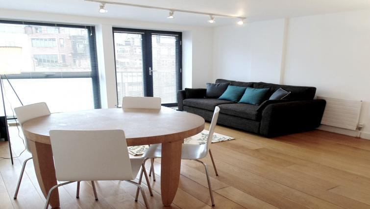 Living area at Still Life Farringdon Executive - Citybase Apartments