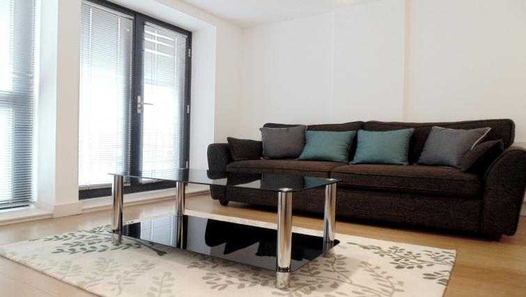 Living space at Still Life Farringdon Executive - Citybase Apartments