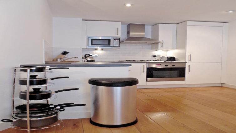 Equipped kitchen at Still Life Farringdon Executive - Citybase Apartments
