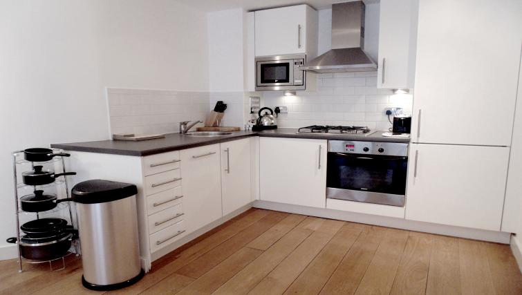 Kitchen at Still Life Farringdon Executive - Citybase Apartments