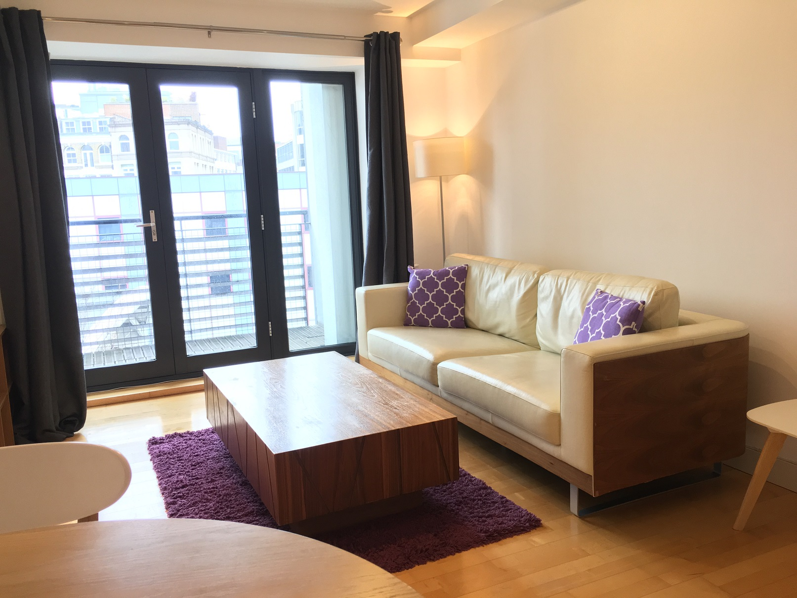 Sofa at Still Life Farringdon Executive - Citybase Apartments