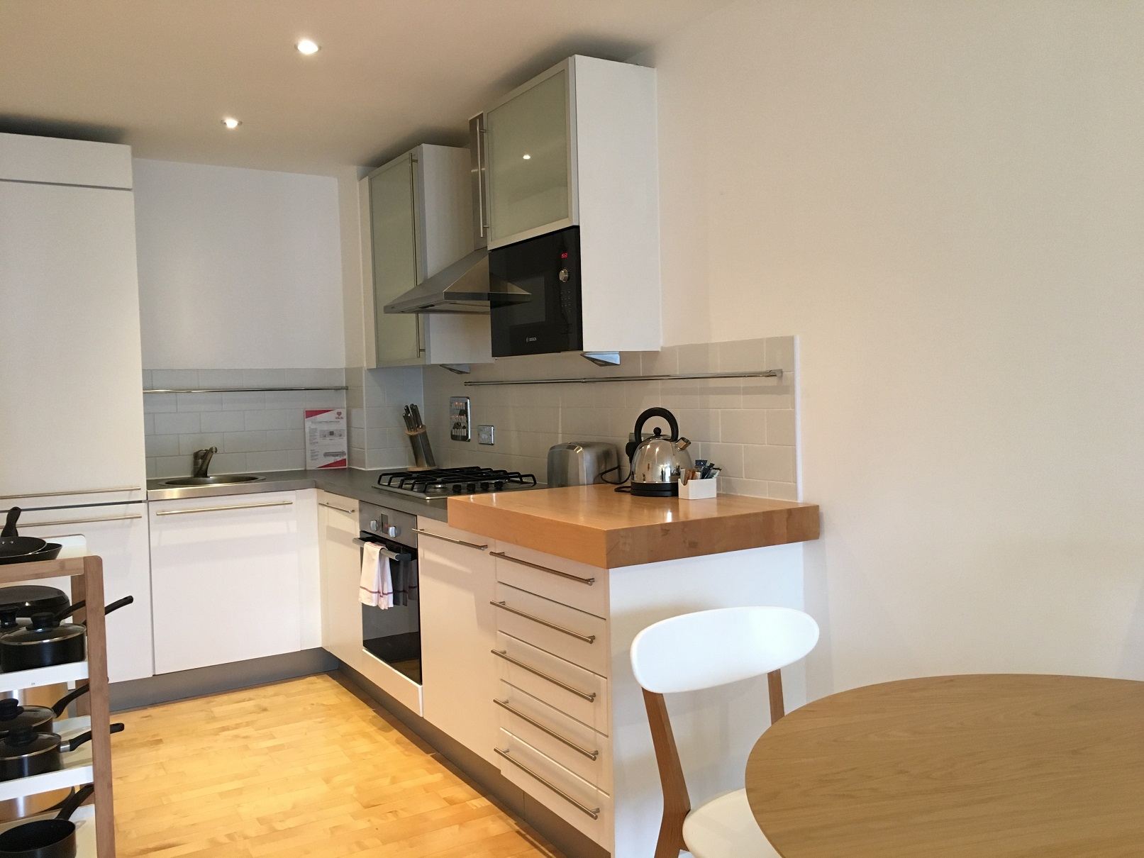 Kitchen facilities at Still Life Farringdon Executive - Citybase Apartments