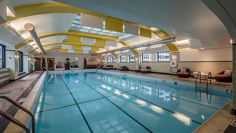 Swimming pool at Randolph Tower Apartments - Citybase Apartments