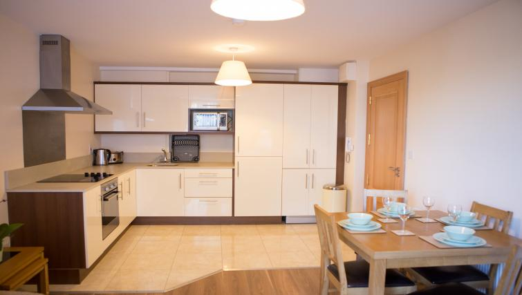 Kitchen at Broc House Suites - Citybase Apartments