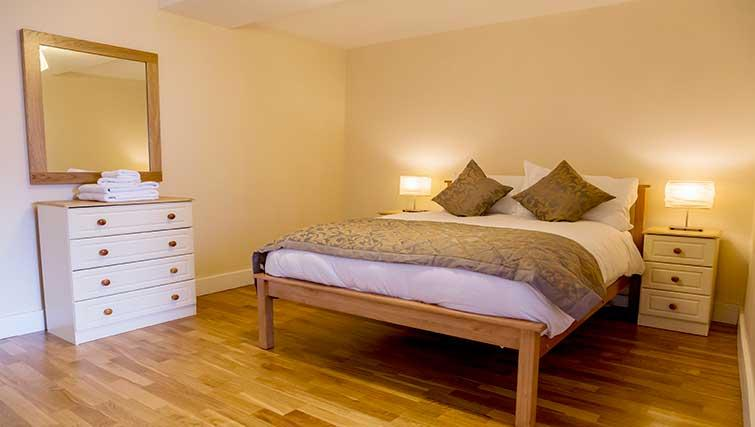 Double bedroom at Pearse Street Suites - Citybase Apartments