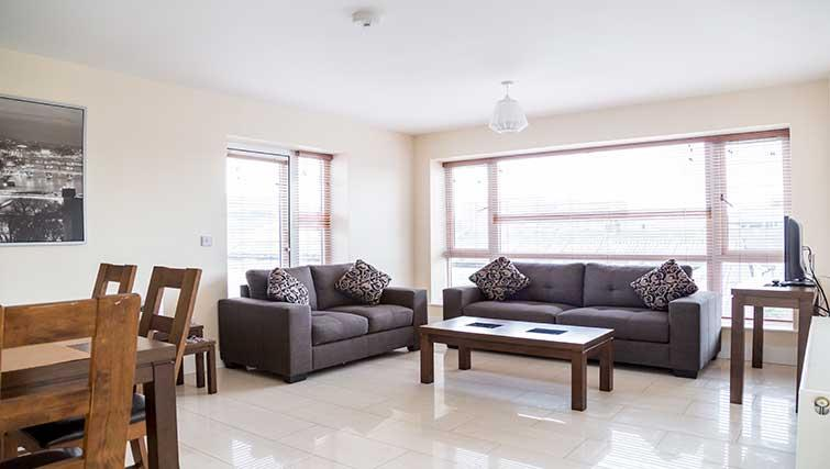 Sofas at Pearse Street Suites - Citybase Apartments
