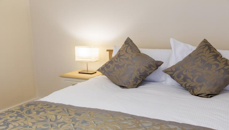 Bedroom at Pearse Street Suites - Citybase Apartments