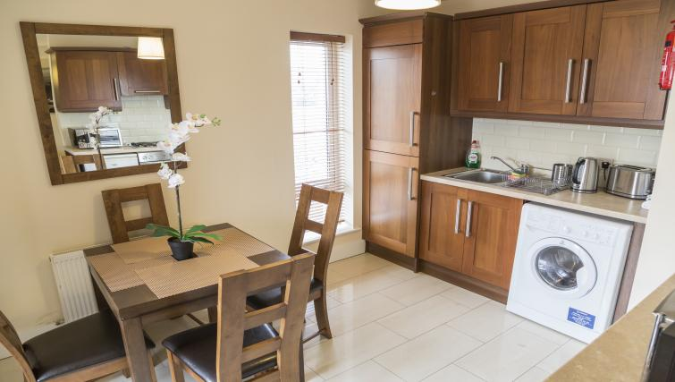 Kitchen at Pearse Street Suites - Citybase Apartments