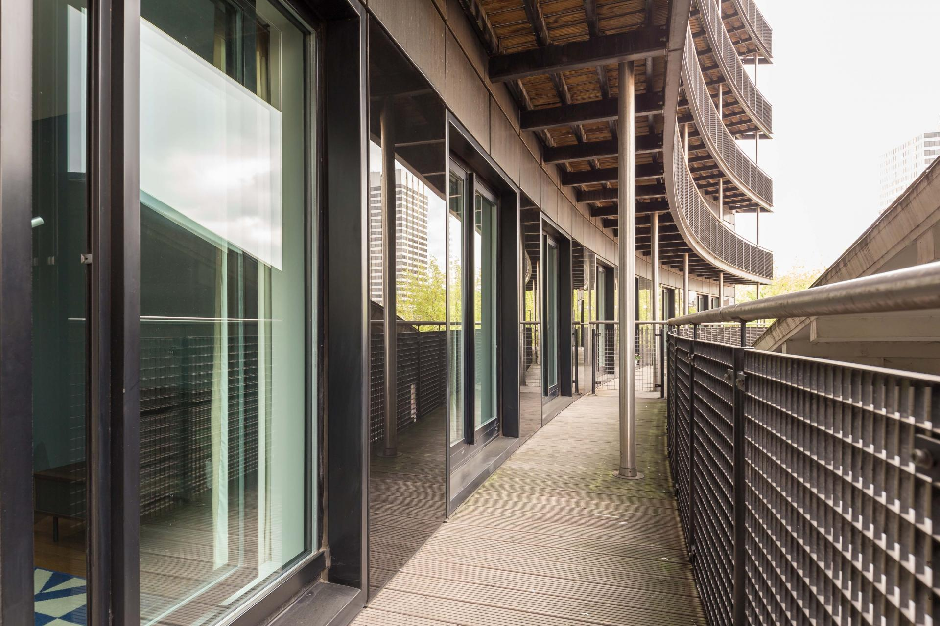 Walk way at Native Waterloo Apartments, South Bank, London - Citybase Apartments