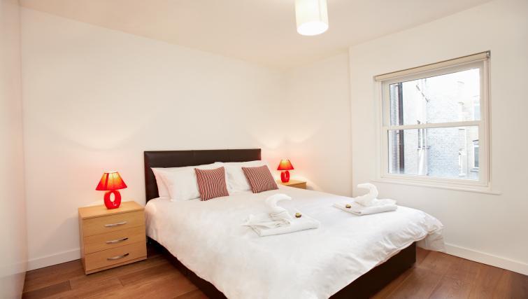 Bedroom at London City Apartments - Citybase Apartments