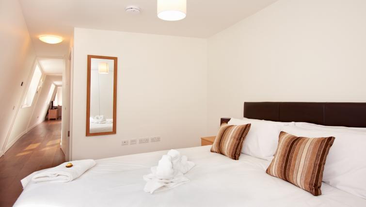 Bed at London City Apartments - Citybase Apartments