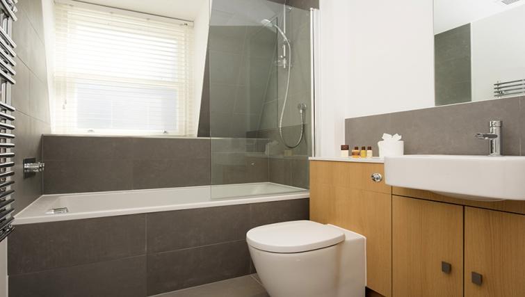 Bathroom at Lovat Lane Monument Apartments - Citybase Apartments