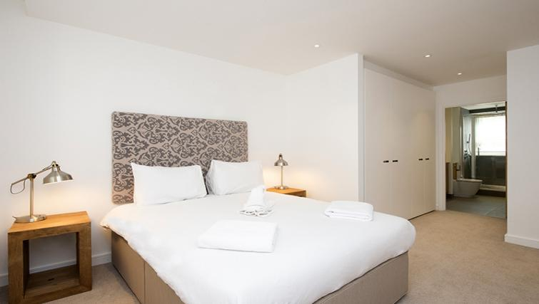 Bedroom at Lovat Lane Monument Apartments - Citybase Apartments