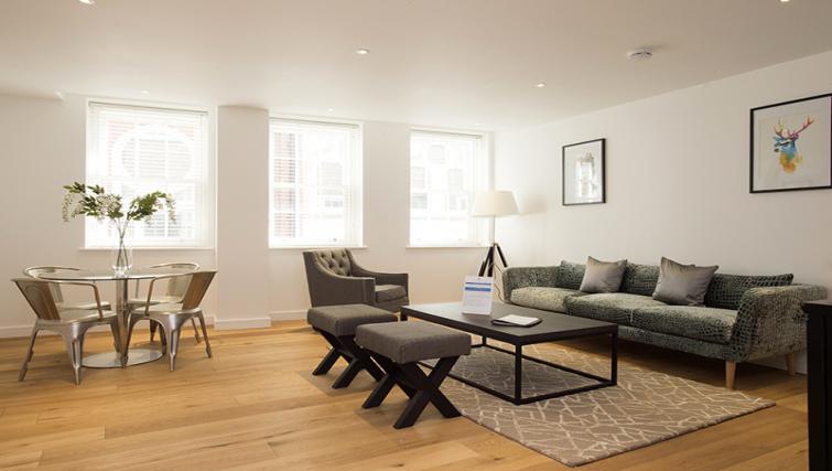 Open plan area at Lovat Lane Monument Apartments - Citybase Apartments