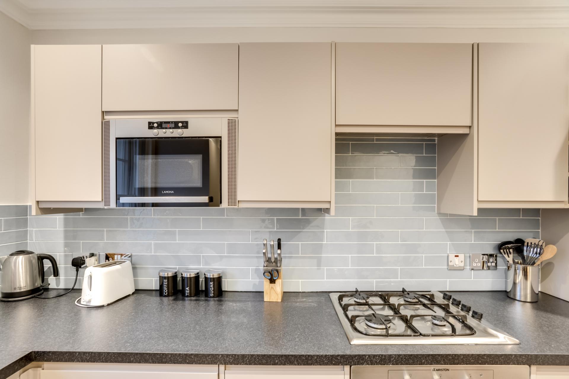 Kitchen at London Victoria Apartments, Victoria, London - Citybase Apartments