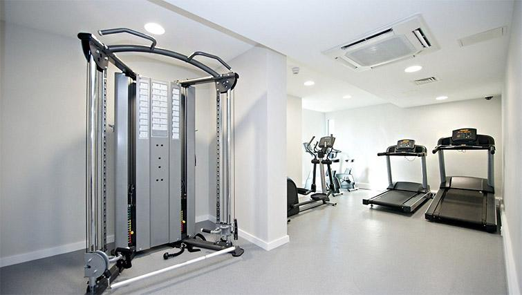 Fitness centre at Staycity Centre Vieux Port - Citybase Apartments