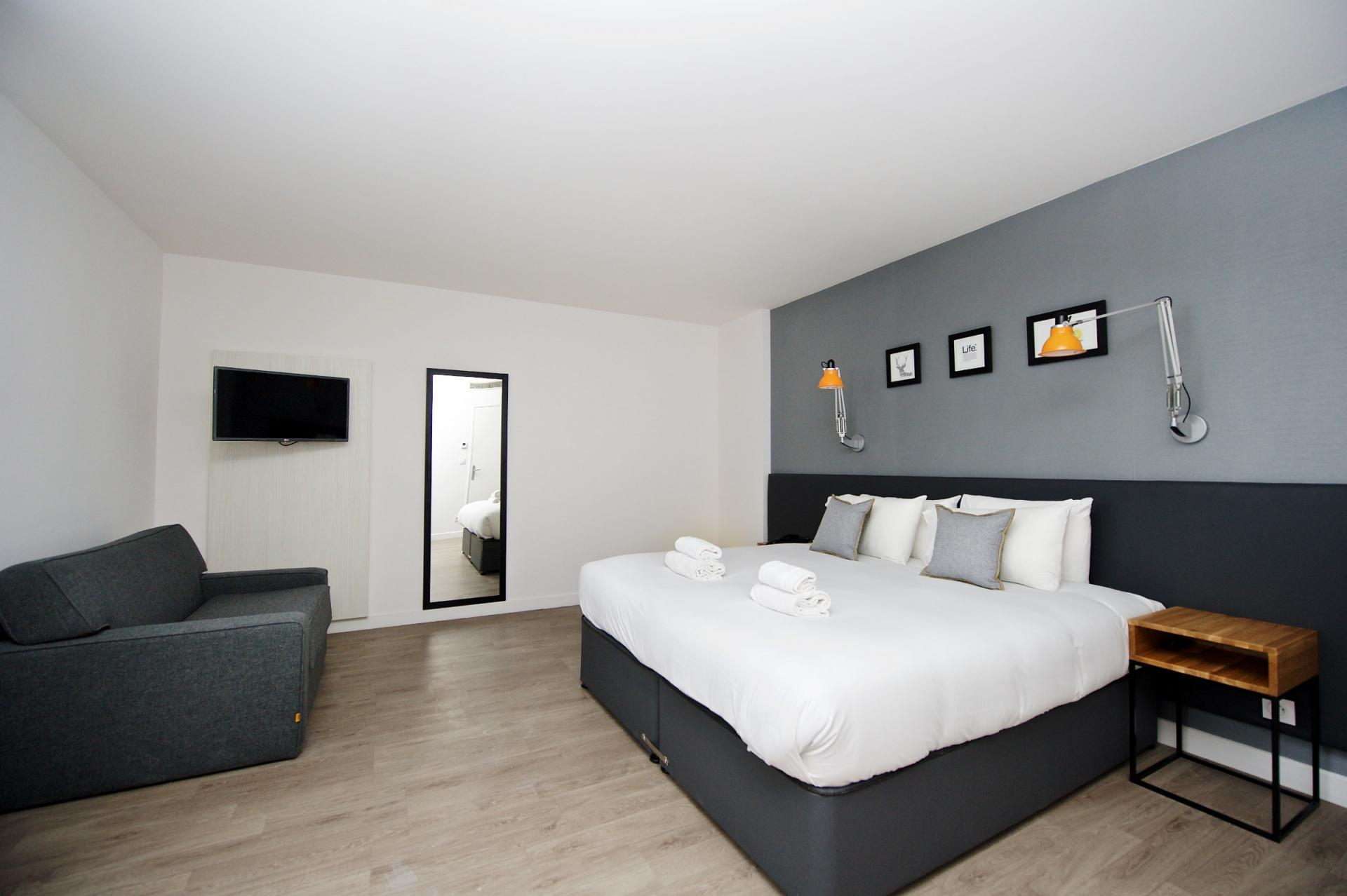 Large studio at Staycity Centre Vieux Port - Citybase Apartments