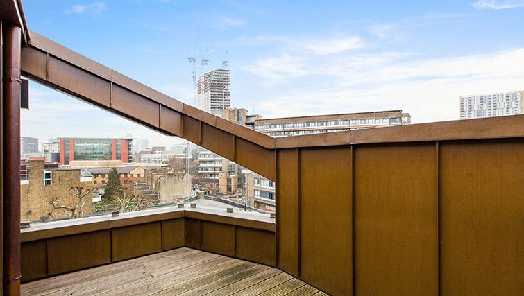 Terrace view at Lambeth North by Q Apartments - Citybase Apartments