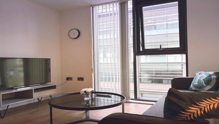 TV at Blonk Street Apartments - Citybase Apartments