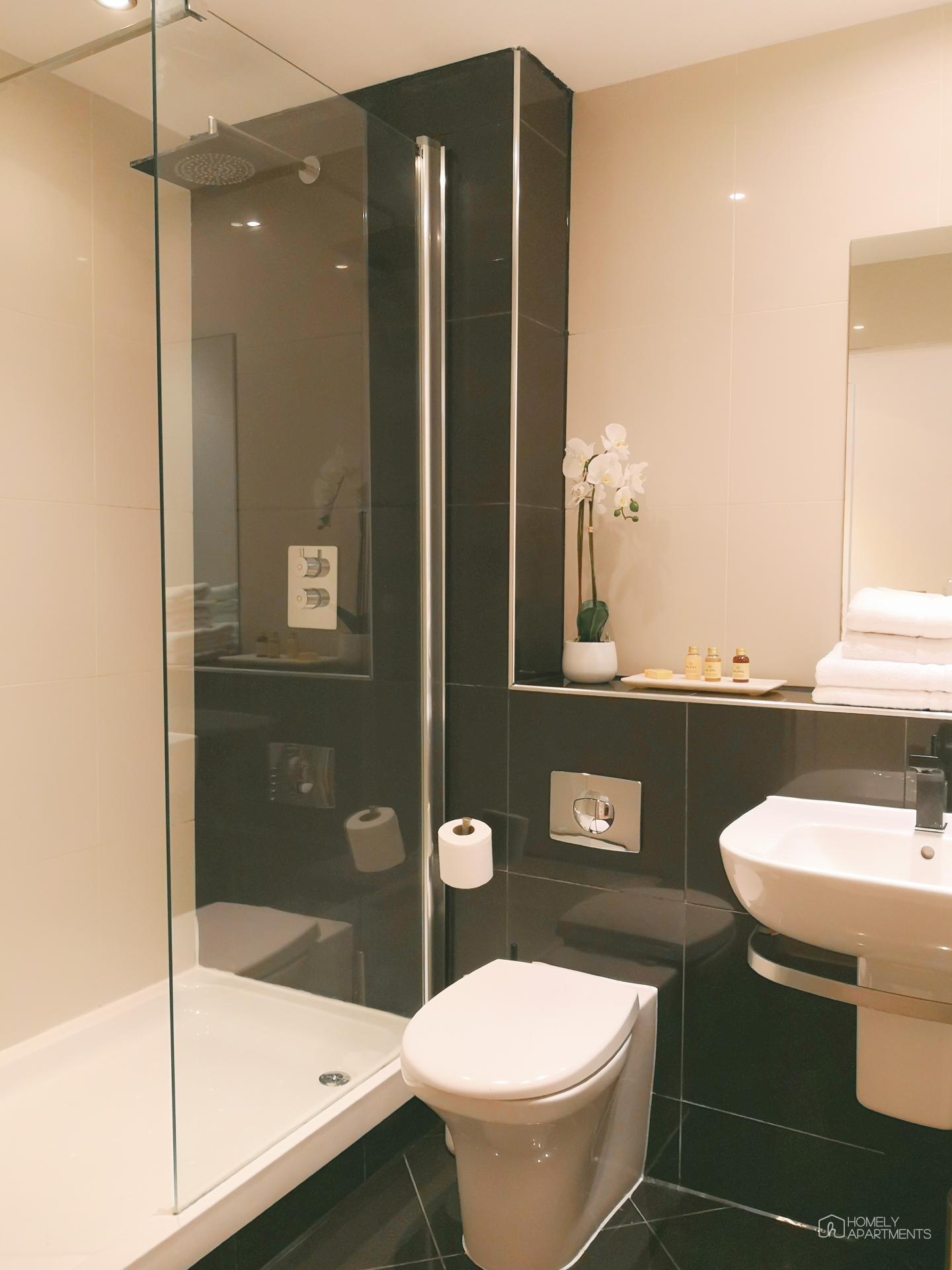 Bathroom at Blonk Street Apartments - Citybase Apartments