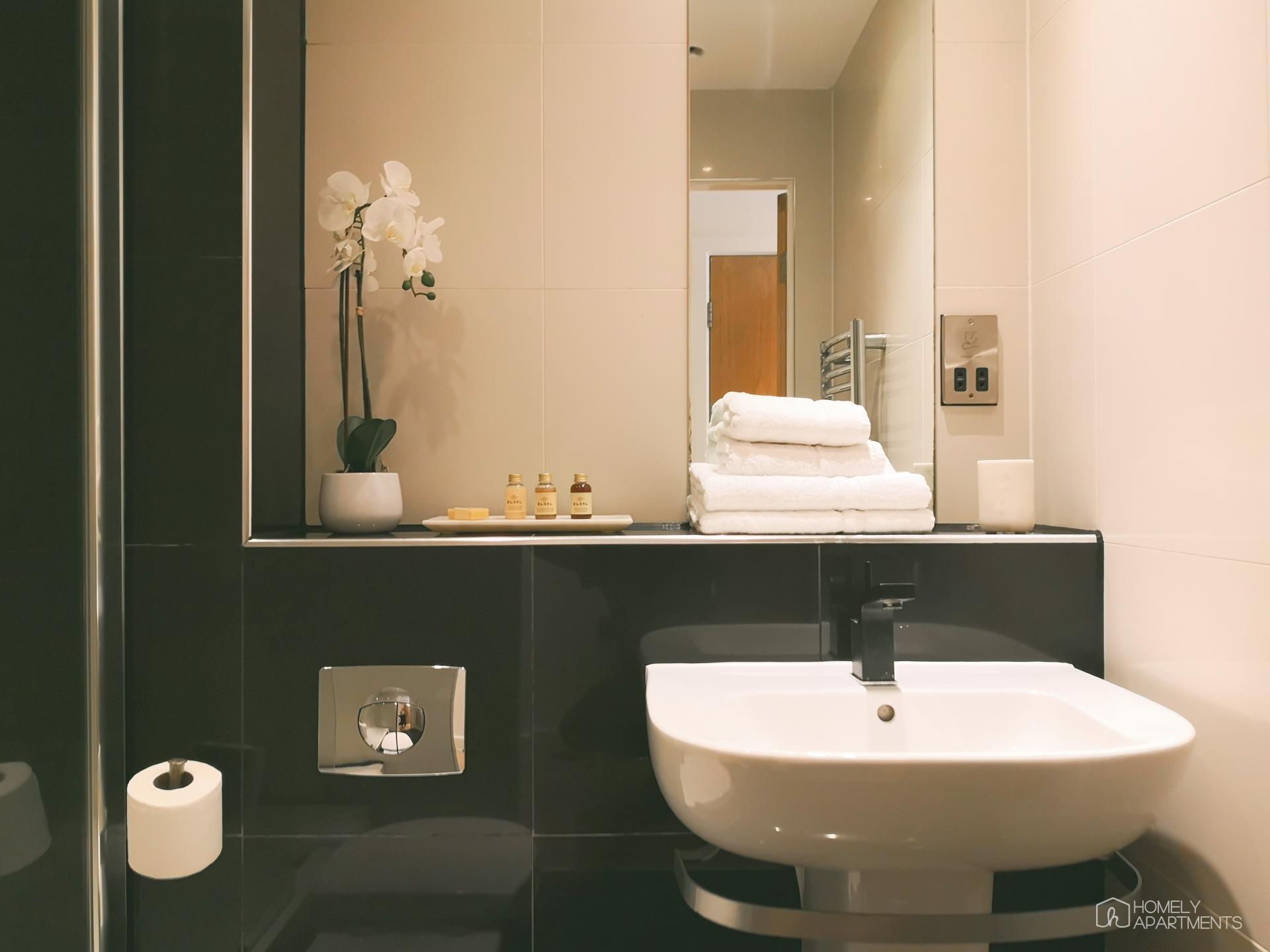 Sink at Blonk Street Apartments - Citybase Apartments