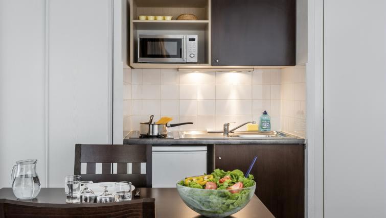 Kitchen at Adagio Access Paris Clamart - Citybase Apartments